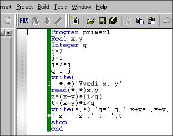 FORTRAN VISUAL COMPAQ 6.6